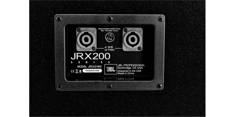 trasera jbl jrx218s