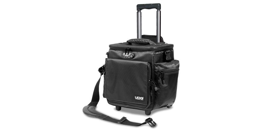 UDG U9981BL/OR Ultimate SlingBag Trolley DeLuxe Black, Orange inside