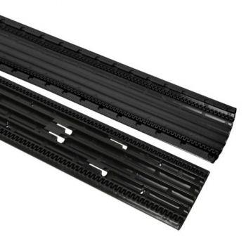 ADAM HALL 85160 Pasacables de 4 Canales negro