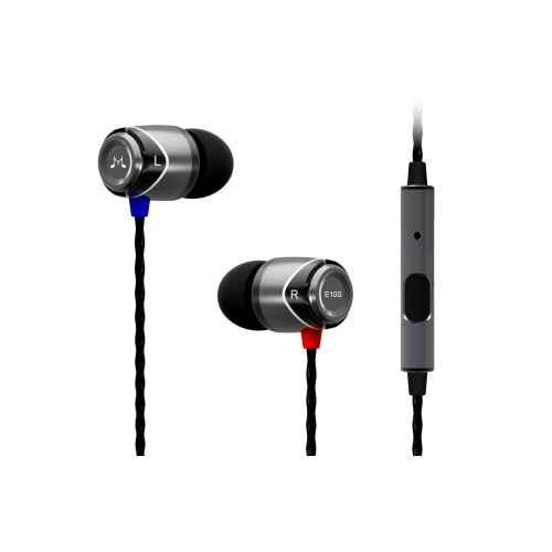 SoundMagic E10S Negro/Plata Auriculares con Micro IN EAR