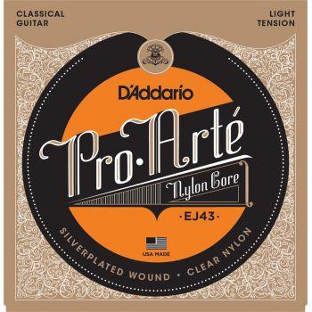 D Addario EJ-43 Light Cuerda Guitarra Clásica