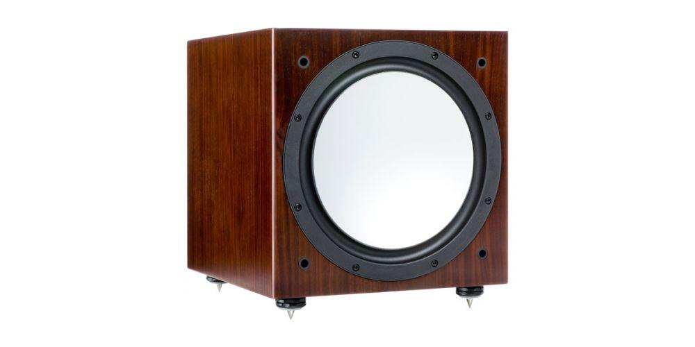 monitor audio silver w12 walnut