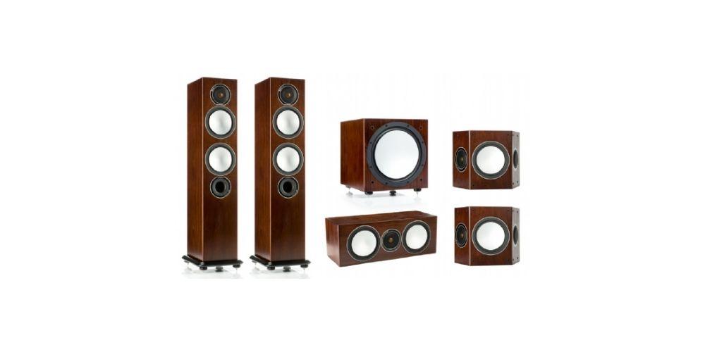monitor audio silver 6 av12 power walnut
