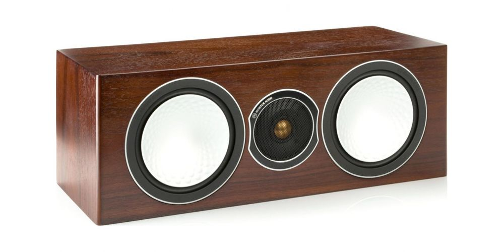 monitor audio silver walnut