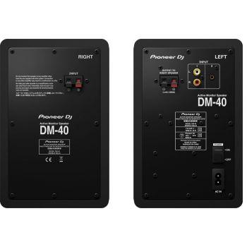 Pioneer Dj DM40 Monitores Activos Pareja Negro