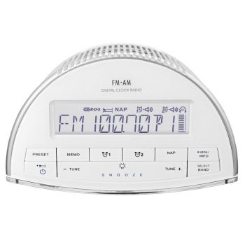 SANGEAN RCR9 WH Radio Reloj Digital