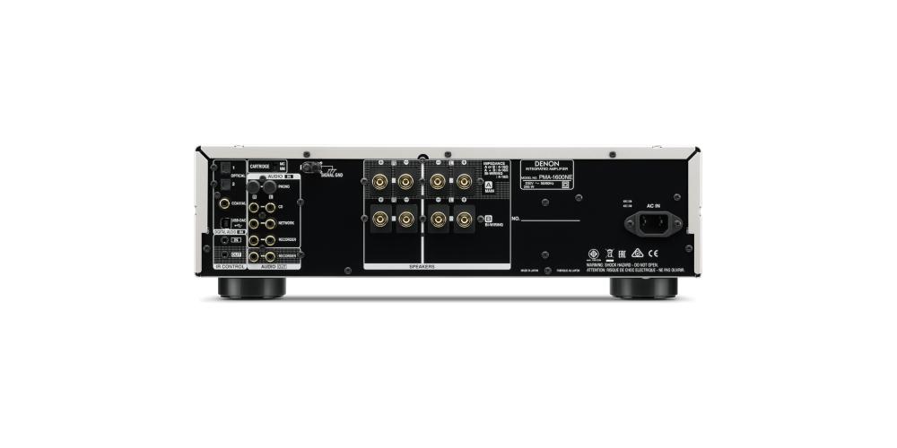 denon pma1600ne amplificador black