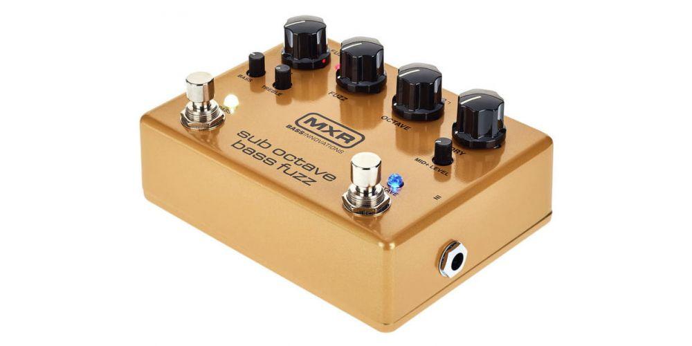 mxr m287 bass fuzz control