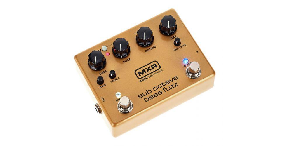 pedal mxr m287 bass fuzz
