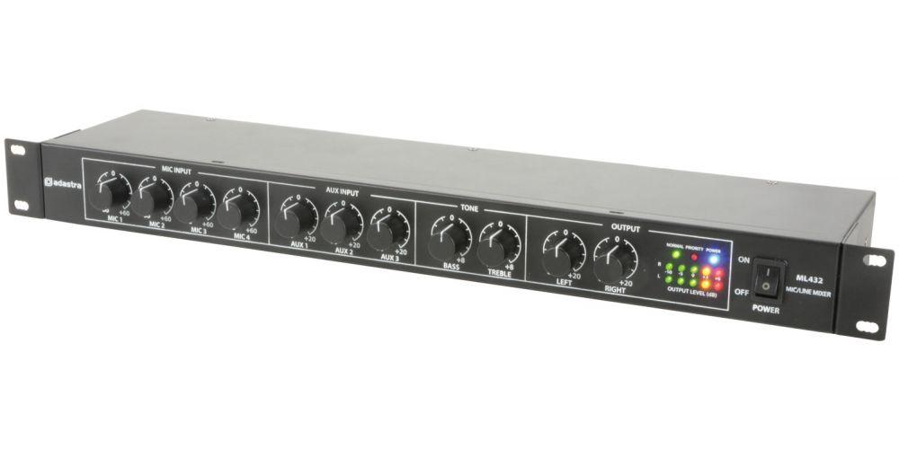 mezclador formato rack adastra 953024