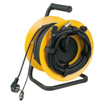 DAP Audio Cabledrum Cable de audio y de corriente de 15 metros
