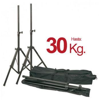 Soportes altavoces profesionales con bolsa transporte. Audibax RF150 MH