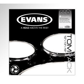 Evans Pack EC2S Clear Standard 12, 13 y 16 ETPEC2SCLRS