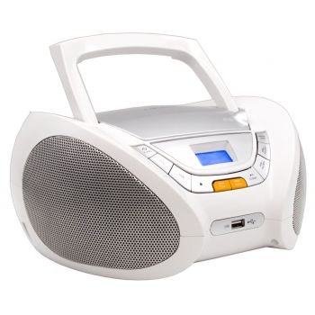 Lauson CP443 Radio CD USB Blanco