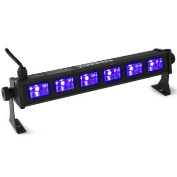 Beamz BUV63 LED bar 6 x 3W UV 153271