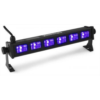 Beamz BUV63 LED bar 6 x 3W UV 153271