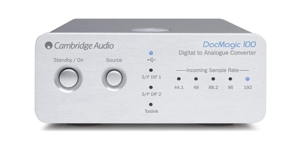 Cambridge  Audio DACMAGIC 100 silver Conversor Digital Analogico