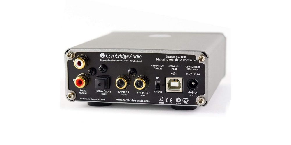 Cambridge Audio DACMAGIC 100 Black Conversor Digital Analogico