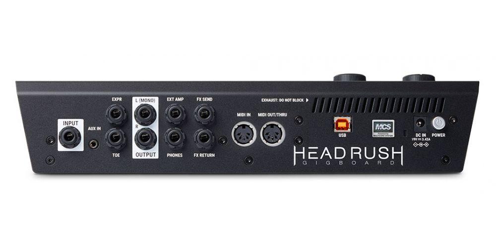 headrush Gigboard conexiones