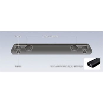 Yamaha YAS-106 Barra de Sonido TV