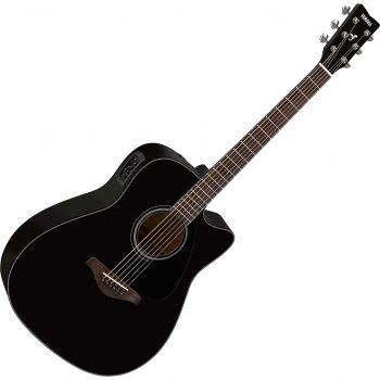 Yamaha FGX800C BL II Guitarra Electro Acustica
