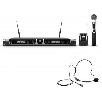Ld Systems U505 Hbh 2 Sistema De Micrófono Inalámbrico Con Cuerpo Auriculares