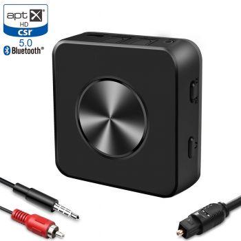 Audiocity Link  Negro Transmisor Receptor Bluetooth