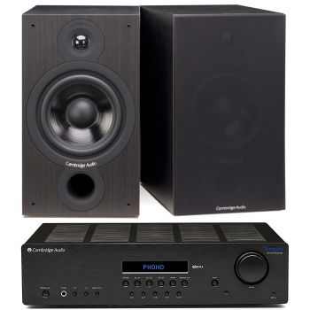 CAMBRIDGE TOPAZ SR-20+SX60 BLACK Conjunto Sonido