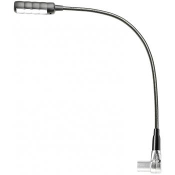 Adam Hall SLED 1 ULTRA XLR 4 AC Lámpara flexo con XLR de 4 pines y 4 LED COB y selección de color