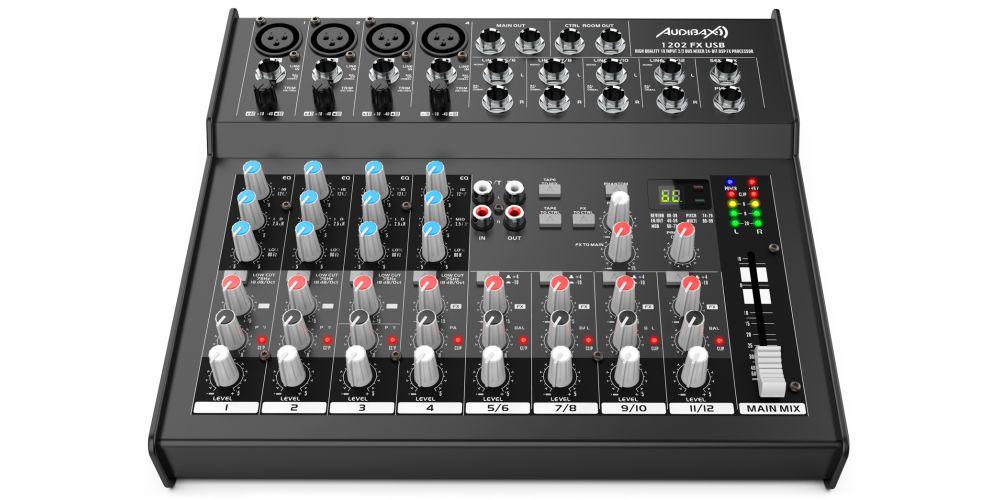 audibax 1202 fx usb audibax 1202 fx usb mesa mezclas conexiones