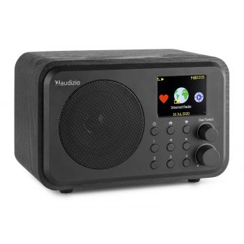 Audizio Venice Radio Wifi Internet + BT Con Batería Color Negro 102220