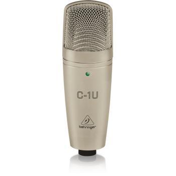 BEHRINGER C1 USB Microfono de Condensador Studio