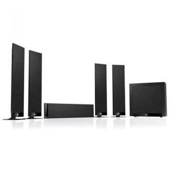 KEF T305 SET Negro Sistema acustico home cinema T-305 SET