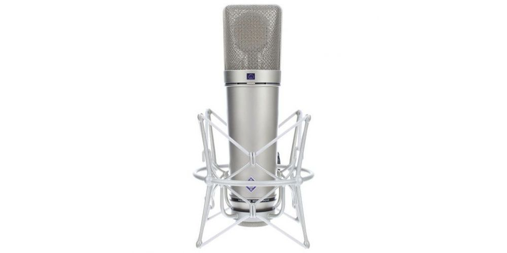 microfono neumann u87 ai studio set niquel