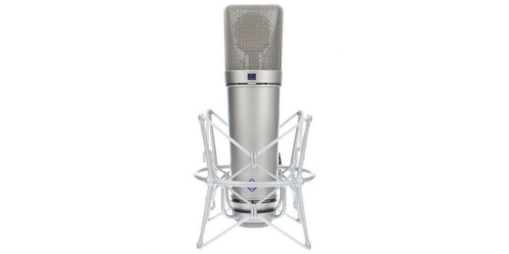 NEUMANN U-87 Ai Studio Set Microfono Multipatron NIQUEL