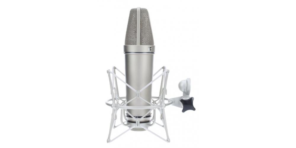 u87 ai studio set niquel microfono estudio