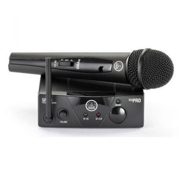 AKG WMS-40 MINI VOCAL Microfono Inalambrico Mano, Banda ISM3