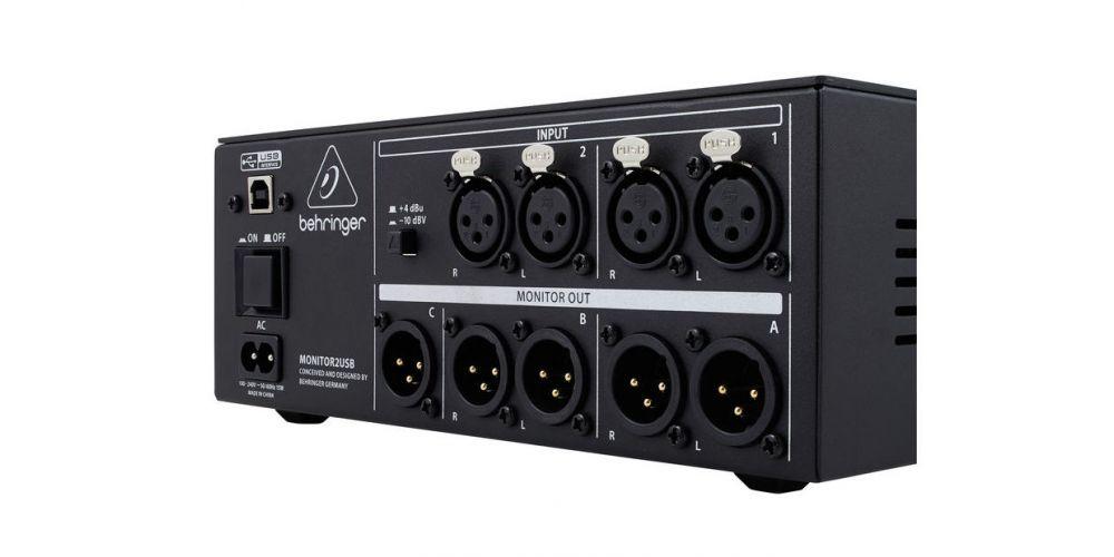 BEHRINGER MONITOR2USB, Controladores Monitor