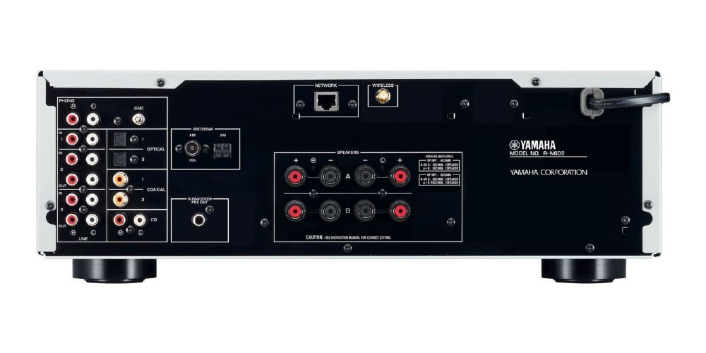 YAMAHA RN602 Black Receptor en Red