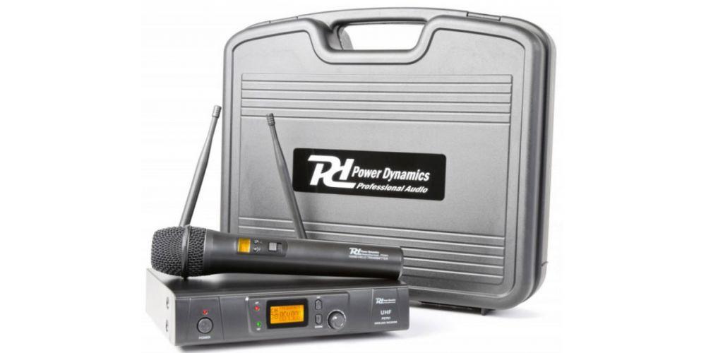Power Dyamics PD781 Microfono Inalambrico de Mano 179193
