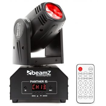 Beamz Panther 15 Cabeza Movil Mini LED Beam 150458 ( REACONDICIONADO )