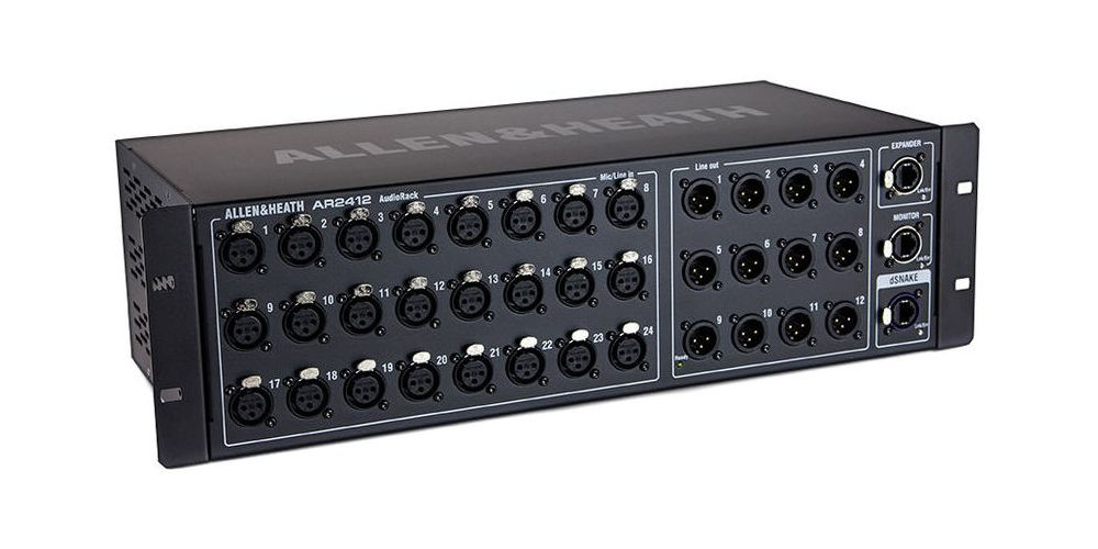 ALLEN-HEATH AR-2412 Rack de conexiones