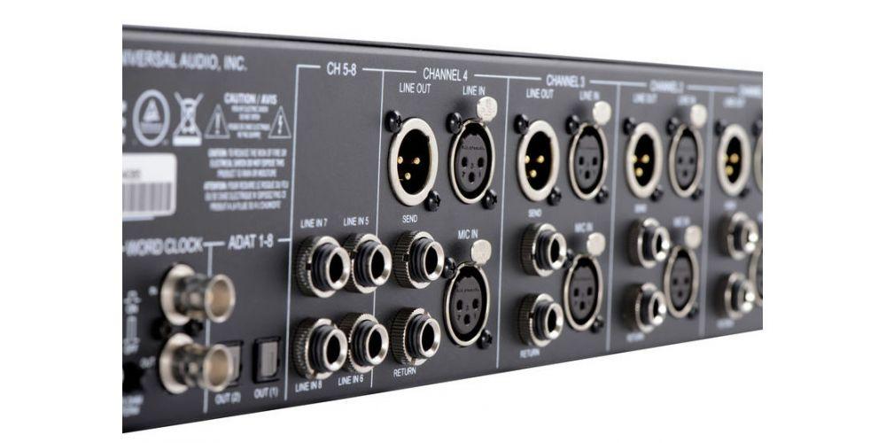 universal audio 4 710d conexiones
