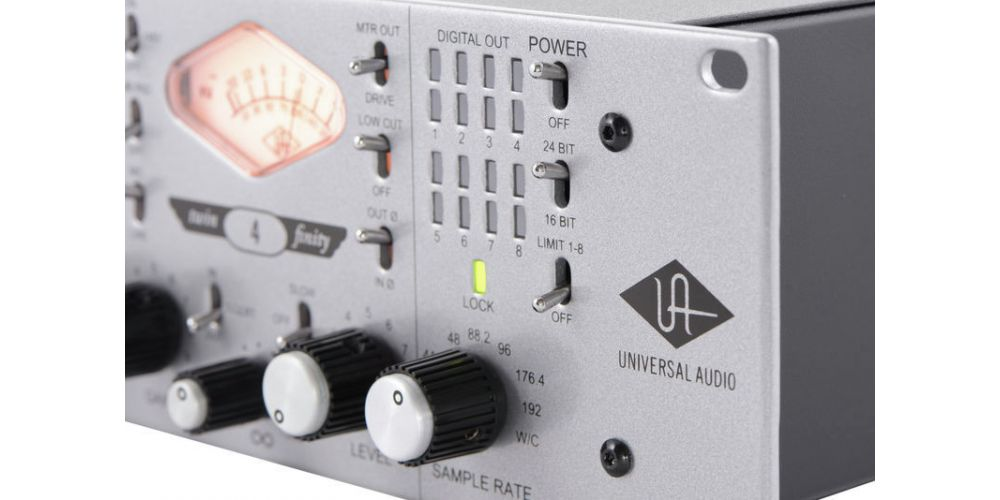 universal audio 4 710d controles