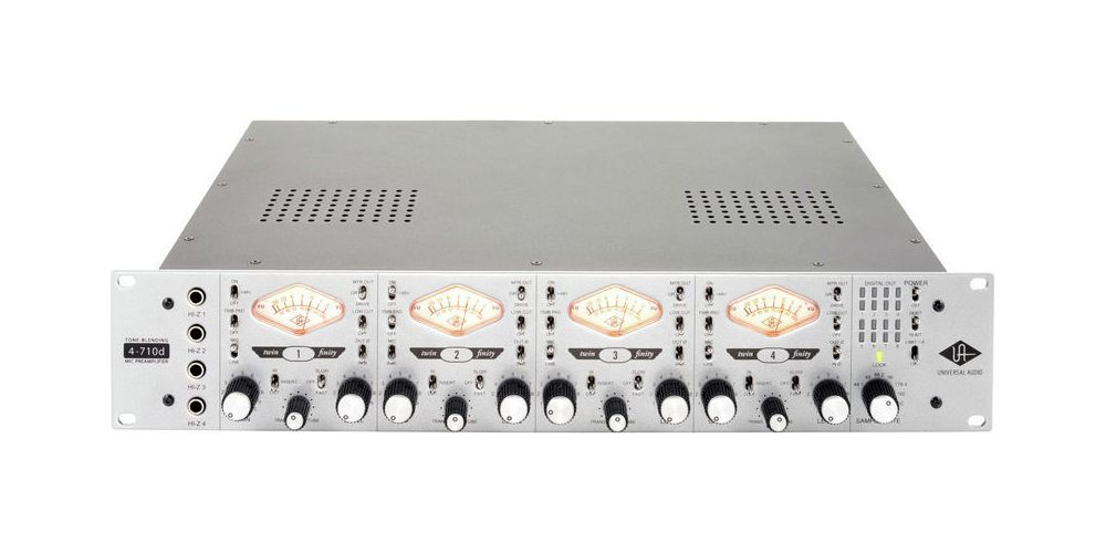 universal audio 4 710d frontal