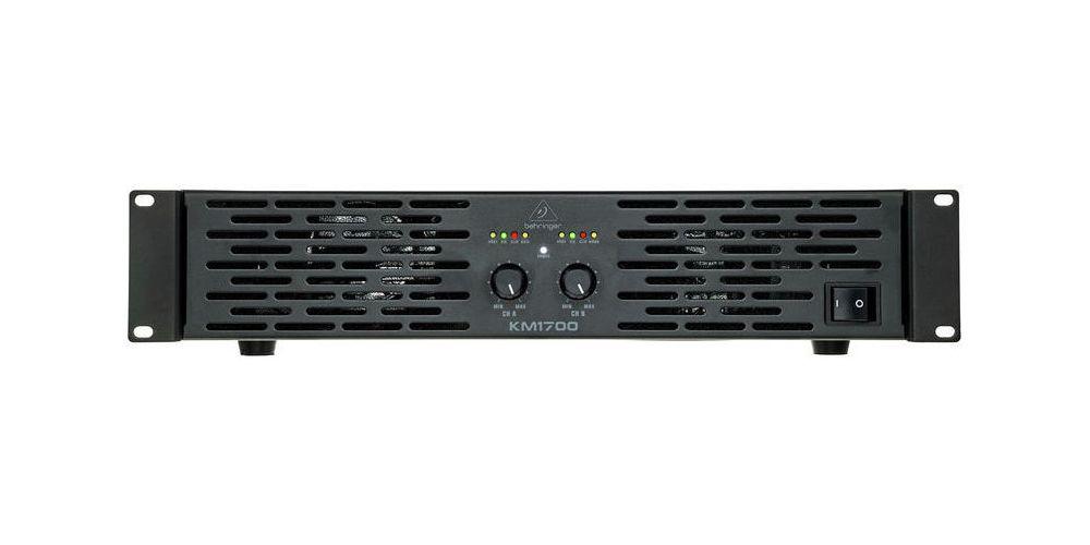 behringer km1700 amplificador