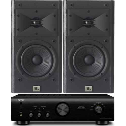 denon pma520 bk amplificador jbl arena120