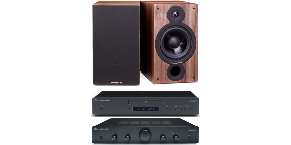 cambridge audio topaz am5 cd5 sx60 walnut