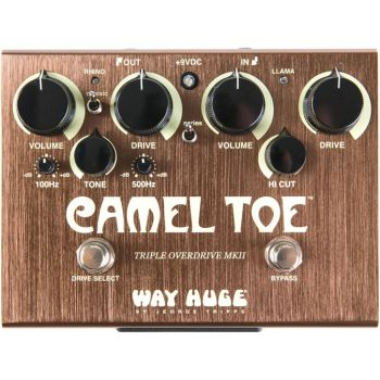 Dunlop MXR WHE209 Pedal OVERDRIVE TRIPLE CAMEL TOE MKII