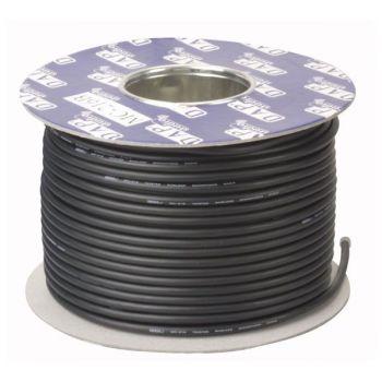DAP Audio LC-126B Bobina de cable negro de línea asimétrico de 100m